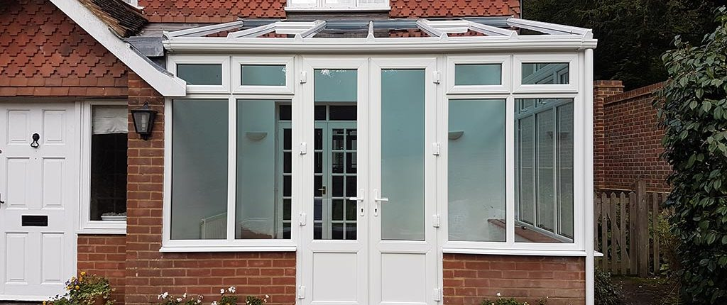 Conservatory wall panel replacement