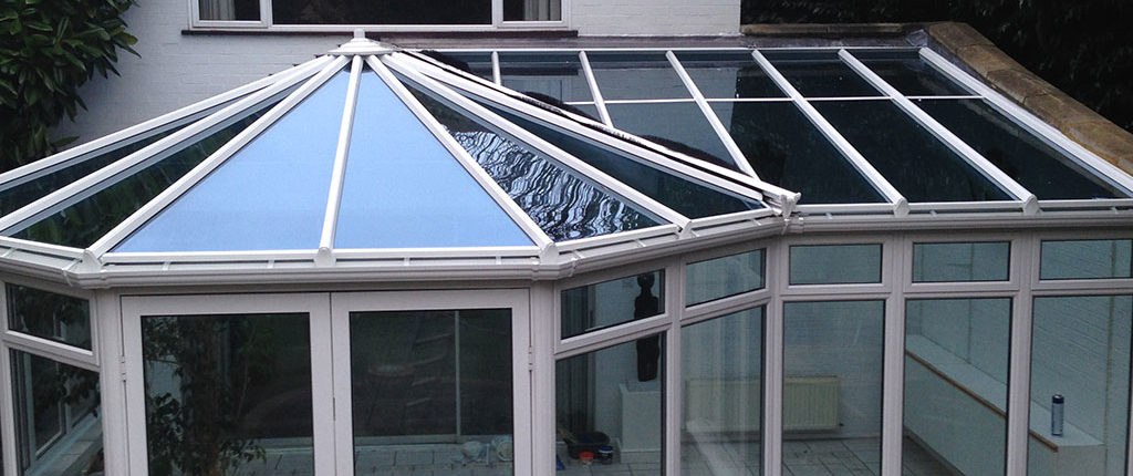 Conservatory replacement roof