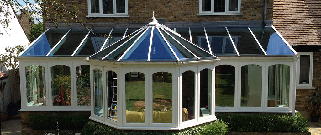 Conservatory roof upgrades, glass roof
